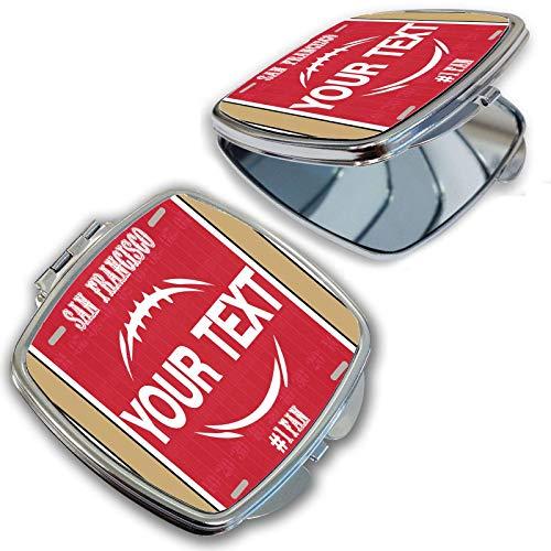 San Francisco Mirror - BRGiftShop Personalize Your Own Football Team San Francisco Compact Pocket Cosmetic Mirror
