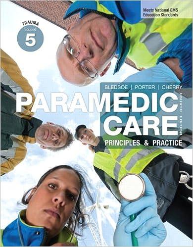 Paramedic Care: Principles & Practice, Volume 5, Trauma (Myemskit)