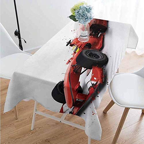 Cars Rectangular tablecloths in a variety of colors