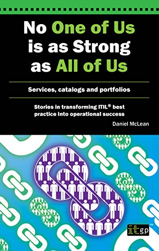 No One Of Us Is As Strong As All Of Us (Stories in Transforming Itil Best Practice Into Operational)
