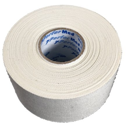 (3 Rolls) White PerforMed Trainers Tape / Athletic Tape (1.5'' x 15 yds) Professional Quality Made in USA