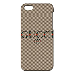iPhone 5c Durable 3d Cover Shell,Luxury Gucci Logo Phone Case for iPhone 5c Absorbing Visual Gucci Mark Pattern Shell