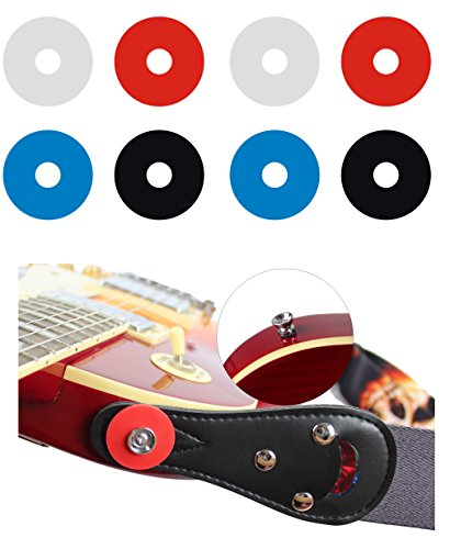YMC Premium Strap Locks  - 2 Red, 2 Blue, 2 Black, 2 Clear