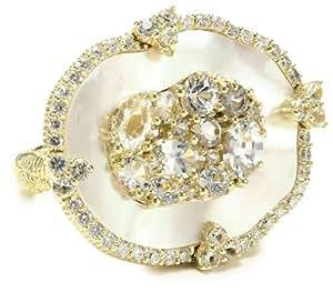 "Judith Ripka ""Oasis"" Ring, Size 7"