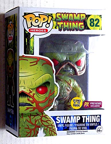 Swamp Thing Variant Vinyl Figure PX Previews Exclusive Glow In The Dark - This Is For 1 Figure Only Graded 9.6 By the Seller