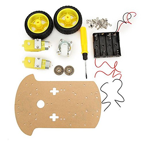 Smart Robot Car Chasis Kit Control inalámbrico para Arduino Caja de cartón embalaje