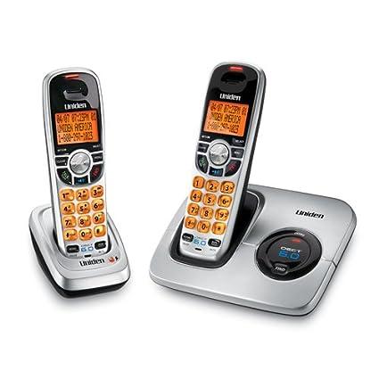 amazon com uniden dect 6 0 silver cordless phone with caller id rh amazon com Uniden Cordless Manual Cordless Phones DECT 6.0 Manual