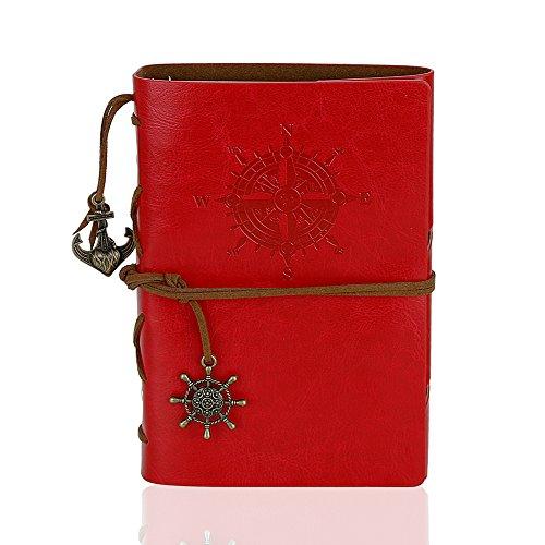 Leather Writing Journal Notebook, WeiBonD 7