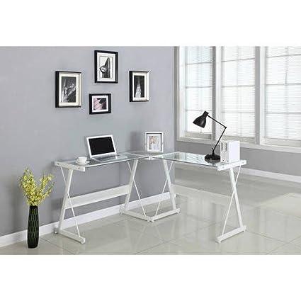 Santorini L Shaped Computer Desk + Expert Guide Good Looking
