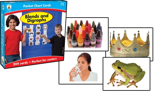 Blends and Digraphs Card Game