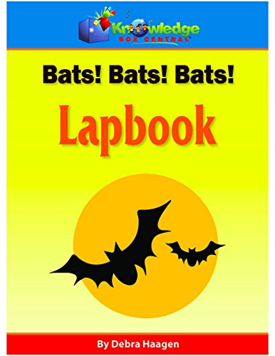 Bats!  Bats!  Bats!  Lapbook: Plus FREE Printable -