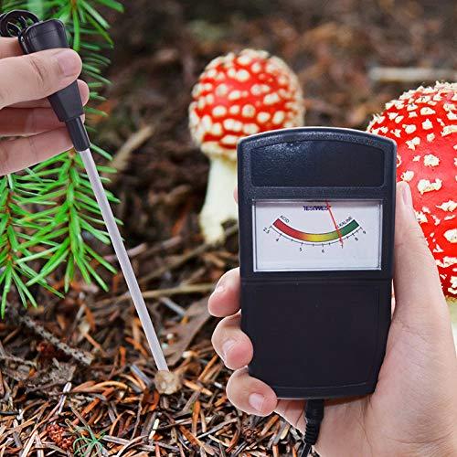 klinkamz Boden Feuchtigkeit Meter PH Messger/ät Tester f/ür Farm Pflanzen Crops Blumen Gem/üse