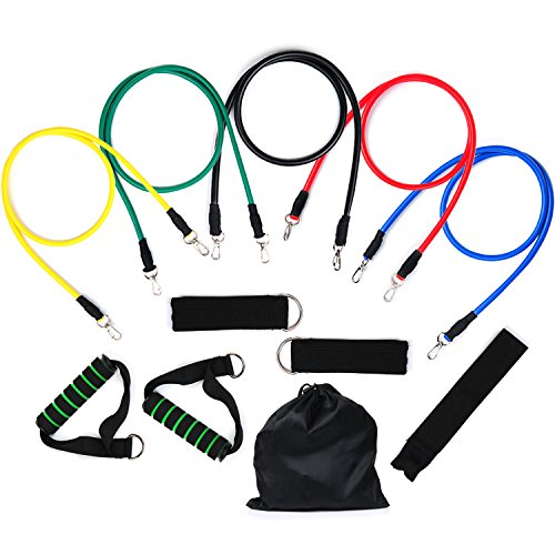 Resistance Bands, Vitalismo Exercise Bands Rubber Fitness
