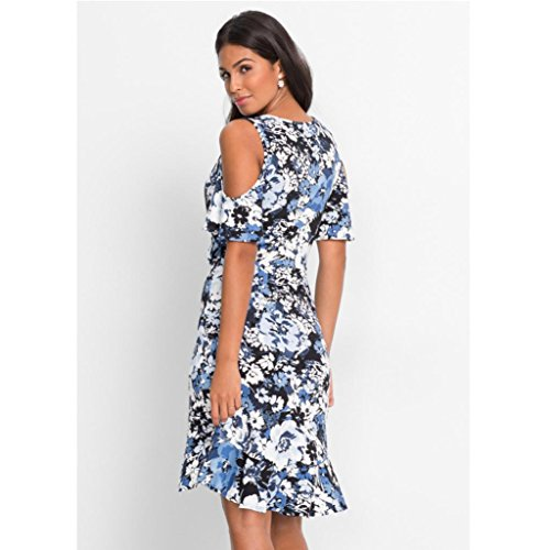 Paymenow Women Floral Print Short Sleeve