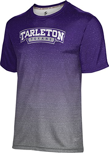 (ProSphere Tarleton State University Men's Performance T-Shirt (Gradient) FE9B Purple and Gray)