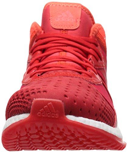 Adidas Mens Pure Boost Zg Training Scarpa Da Allenamento Rosso Vivo / Bianco / Rosso Solare