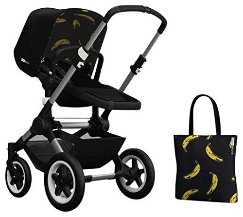 Bugaboo Buffalo Accessory Pack - Andy Warhol Black/Banana (Special Edition) by Bugaboo