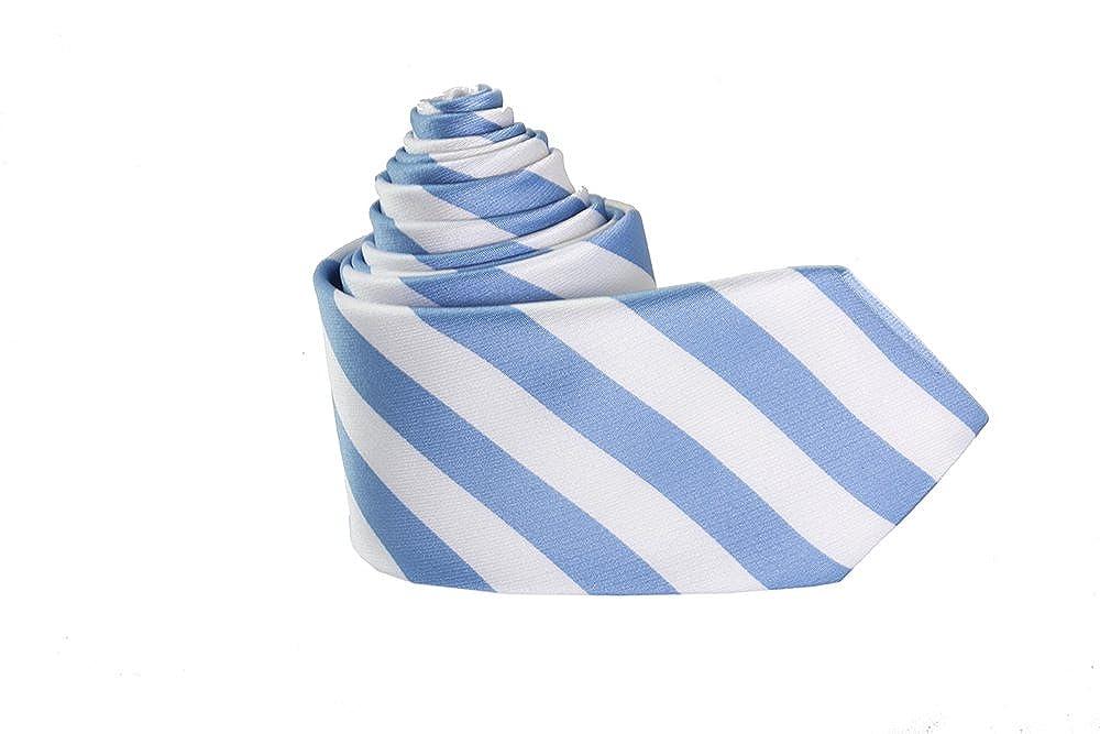 Para hombre J S camisas cielo Azul y blanco para hombre Designer ...