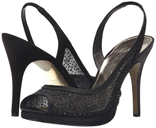 Adrianna Papell Women's Georgi Platform Dress Sandal, Black, 7 UK/8 M US