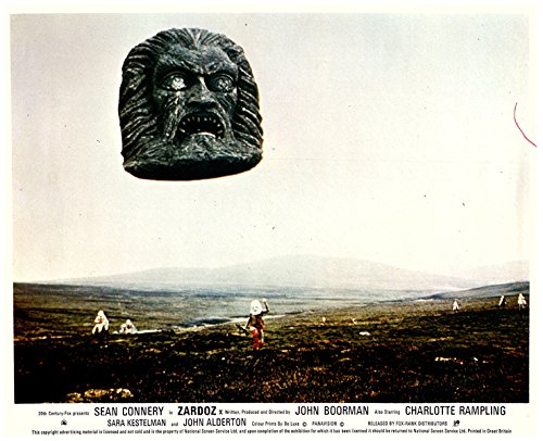 Zardoz Original Lobby Card Giannt Head Statue in Flight for sale  Delivered anywhere in USA