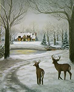 "Amazon.com: ""The Warmth of Home, "" a Cold but Cozy Winter"