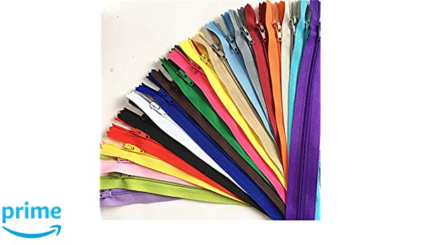 20/colores sunreek 20/colores 60/pcs Mix Bobina de nylon cremalleras sastre costura Craft 9/Inch Crafter s Especial