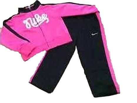 Niñas Chándal Nike (260276 - 023) rosa/negro tamaño 2 (1 - 2 años ...
