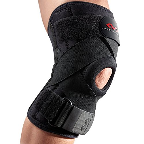 Mcdavid Knee Brace, Knee Support & Compression for Knee Stability, Patella Tendon Support, Tendonitis Pain Relief, Ligament Support, Chondromalacia & Injury Recovery, for Men & Women, Sold as Single U