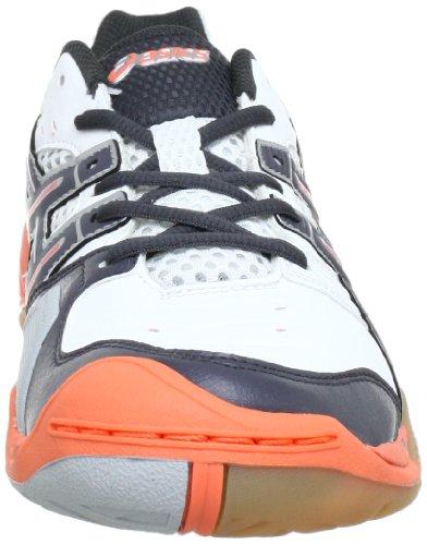 titane Pour Femme domain Blanc De Handball Asics Gel Chaussures N orange YXPaxfwn8q