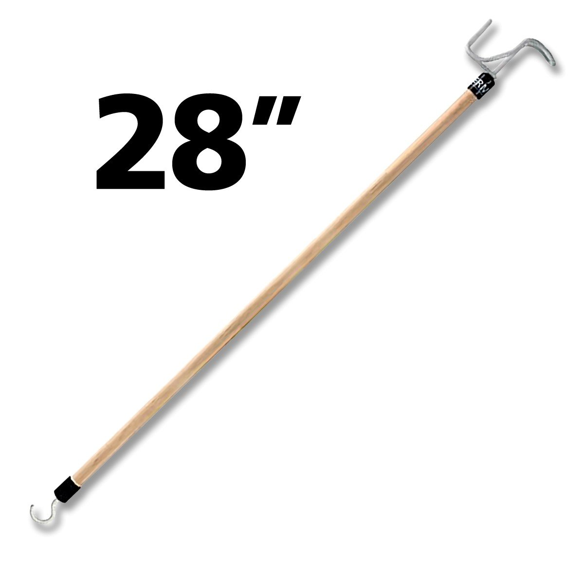 RMS Deluxe 28'' Long Dressing Stick | Ideal Dressing Aid for Shoes, Socks, Shirts and Pants)