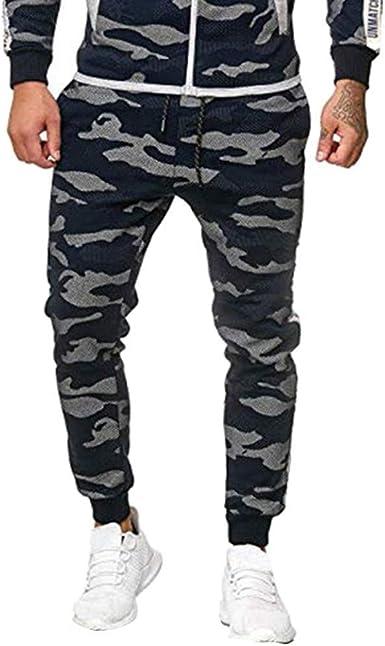 Heetey Pantalones de Deporte para otoño e Invierno Hombre, de ...