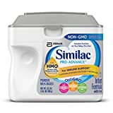 Health & Personal Care : Similac Pro-Advance Non-GMO Infant Formula with Iron, with 2'-FL HMO, for Immune Support, Baby Formula, Powder, 23.2 ounces (Single Tub)