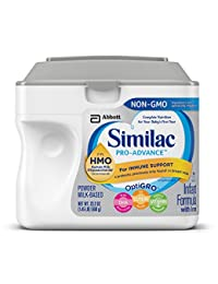 Similac Pro-Advance Non-GMO Infant Formula with Iron, with 2'-FL HMO, for Immune Support, Baby Formula, Powder, 23.2 ounces (Single Tub) BOBEBE Online Baby Store From New York to Miami and Los Angeles