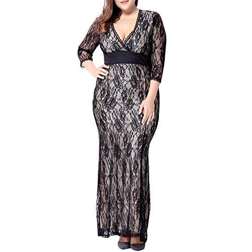 6x plus size formal dresses - 3