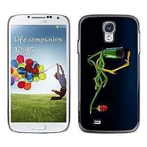 LECELL -- Funda protectora / Cubierta / Piel For Samsung Galaxy S4 I9500 -- Abstract Honey Flower --