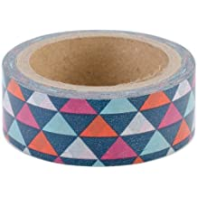 Love My Tapes Washi Tape 15mmX5m-Geometric Triangles - Case Pack of 3