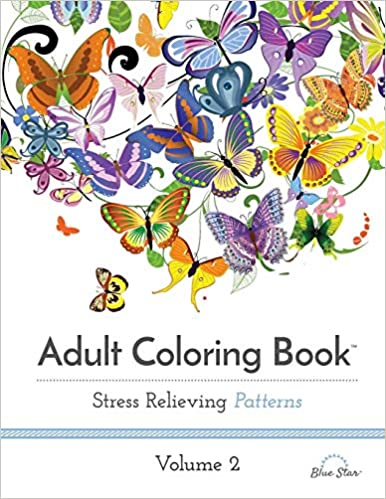 Amazon Com Adult Coloring Book Stress Relieving Patterns Volume 2