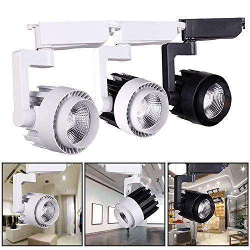 ([LED Light]-Clearance Deals-15/20/30W LED Ceiling Pendant Track Light Clothes Shop Store Spotlight Rail Lamp,Christmas Lights)