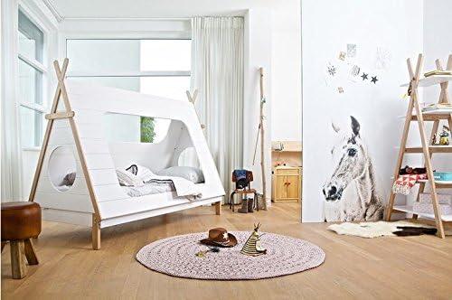 Cama tipi para habitación infantil (método Montessori): Amazon.es: Hogar