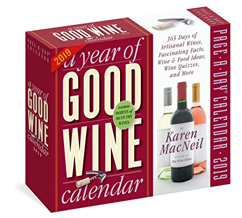Year of Good Wine Page-A-Day Calendar 2019 by Karen MacNeil