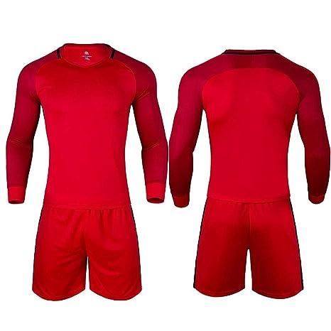 BUY-TO Pantalones de Jersey de fútbol de Manga Larga Conjunto de ...