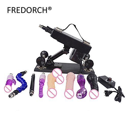 FANGMING 2016 Upgrade Affordable Sex Machines for Women Automatic Masturbation Machine with Big Dildo Vibration Sex Toy for Women and Man