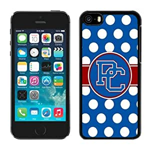 Customized Iphone 5c Case Ncaa Big South Conference Presbyterian Blue Hose 4