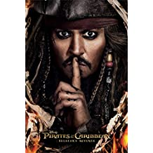 """Pirates Of The Caribbean: Dead Men Tell No Tales - Movie Poster / Print (Intl. Style - Salazar's Revenge / Can You Keep A Secret) (Size: 24"""" x 36"""")"""