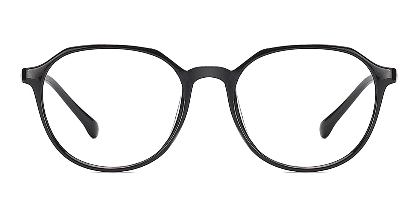 4f414f87907 Amazon.com  TIJN Retro Men Women Full Round Rim Eyeglasses Non Prescription  Glasses Frames  Clothing