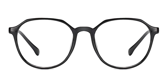 da75d600356 Image Unavailable. Image not available for. Color  TIJN Retro Men Women  Full Round Rim Eyeglasses Non Prescription Glasses Frames