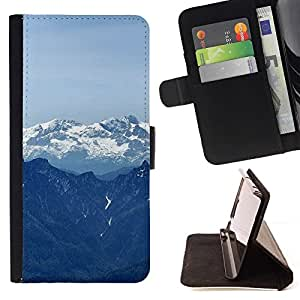 Momo Phone Case / Flip Funda de Cuero Case Cover - Naturaleza Hermosa Forrest Verde 116 - Huawei Ascend P8 (Not for P8 Lite)