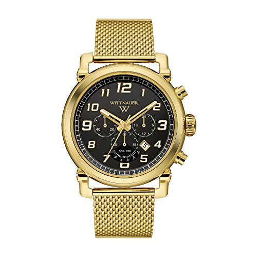 Bulova-Mens-Quartz-Stainless-Steel-Casual-Watch-ColorGold-Toned-Model-WN3071