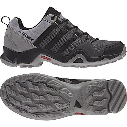 adidas outdoor Mens Terrex AX2R Shoe, Granite/Black/CH Solid Grey, 9 D(M) US