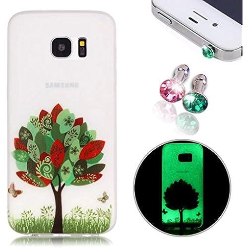 Samsung Galaxy S7 Case, Pershoo Ultra Thin Anti Fingerprint Anti-Scratch Soft TPU Colorful Printing Soft Silicone Sales